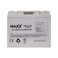 Gēla akumulators 12-FM-40 40Ah 12V