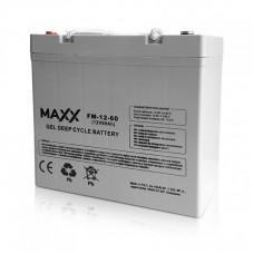 Gēla akumulators 12-FM-60 60AH 12V