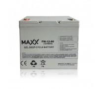 Gēla akumulators 12-FM-80 80AH 12V