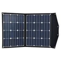 Pārnēsājamais saules modulis 2X40W ar uzlādes kontrolieri 10A