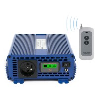 Sprieguma pārveidotājs (invertors) IPS-1000S PRO ECO MODE, SINUS 12VDC / 230VAC