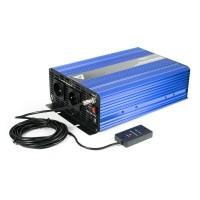 Sprieguma pārveidotājs (invertors) 24 VDC / 230 VAC SINUS IPS-3000S 3000W