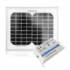 Saules moduļa 5W Maxx un uzlādes regulatora 5A komplekts