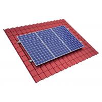 Stiprinājumu komplekts 35 mm bieziem saules moduļiem tērauda jumta segumam