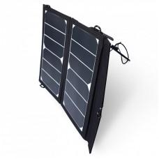 Pārnēsājama saules baterija 2X7W