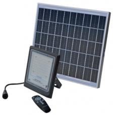Atsevišķs LED gaismeklis LED ED60 (60W) + saules modulis (16W)