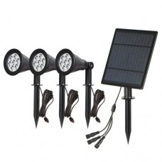 Dārza LED gaismeklis - LED G104 (3 x 7W)