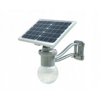 LED saules gaismeklis, autonoms, modelis SLG-6-12-6W LED gaismeklis un 12W saules modulis